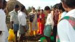 Famrers trg during the visit to Belagali village of Shigoan taluk