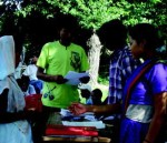 Farmers distributing CBM fund in Shankarpur