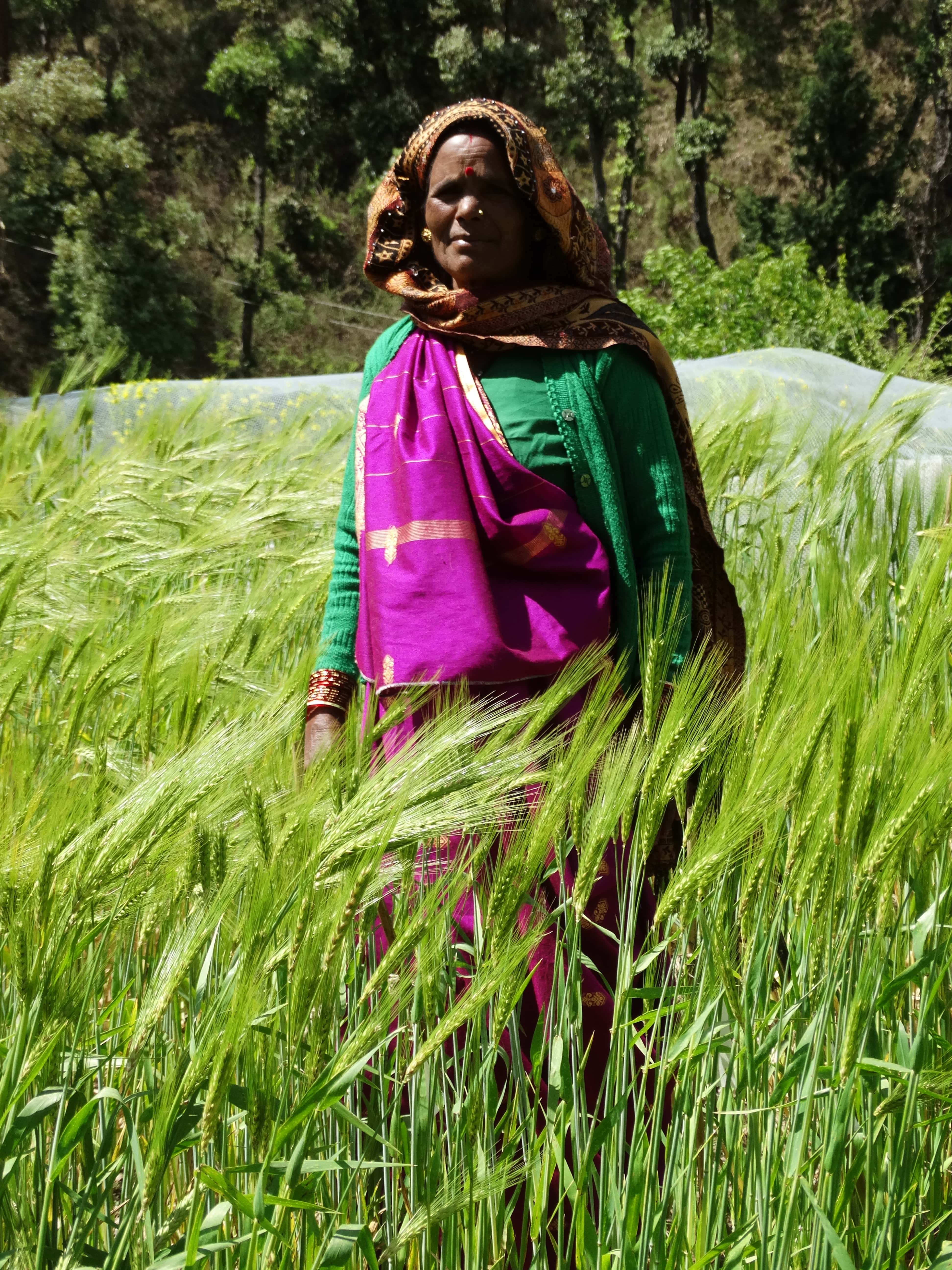 Women provide crucial support to agriculture in the region