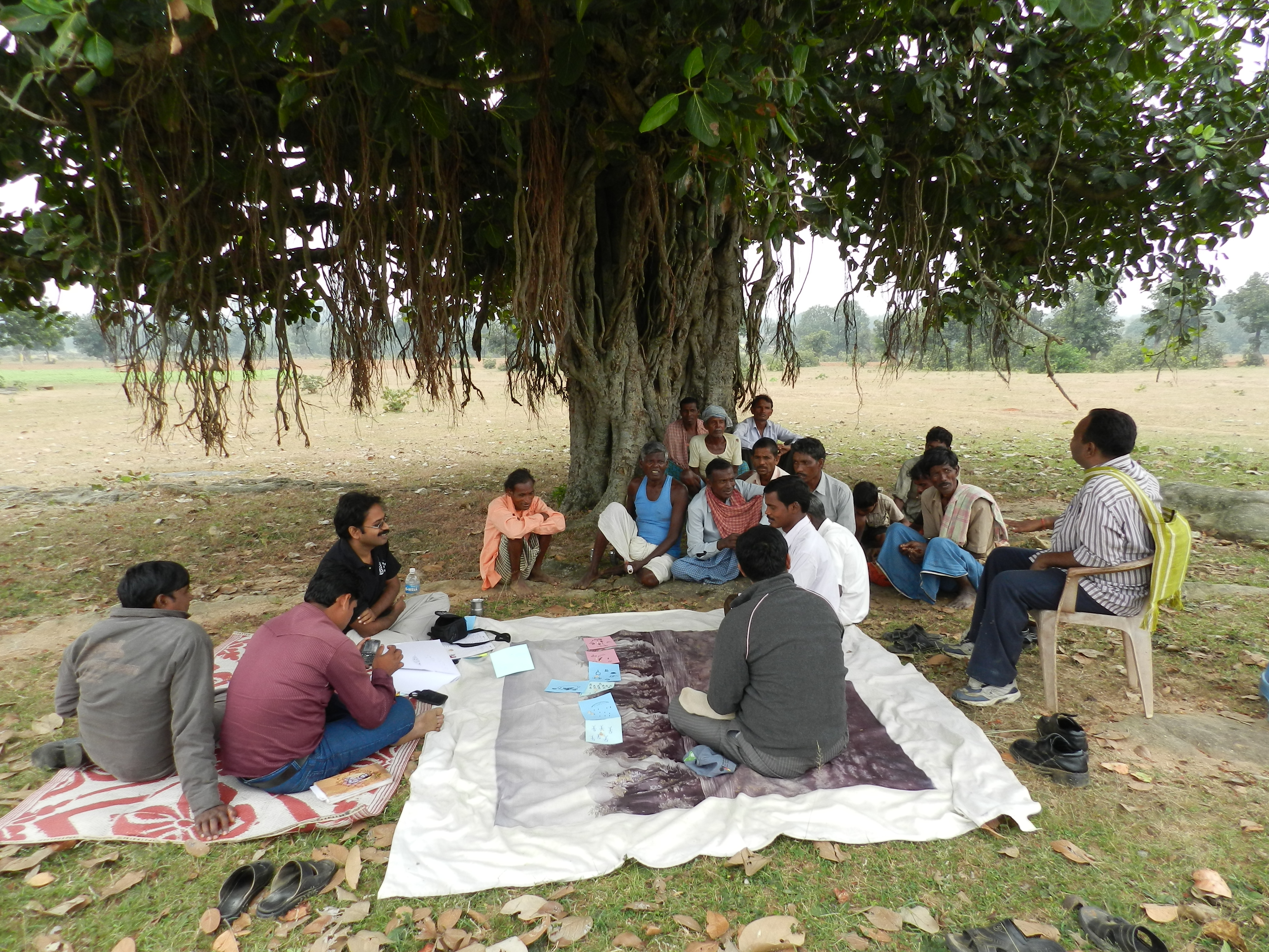 A community monitoring session in Deoghar