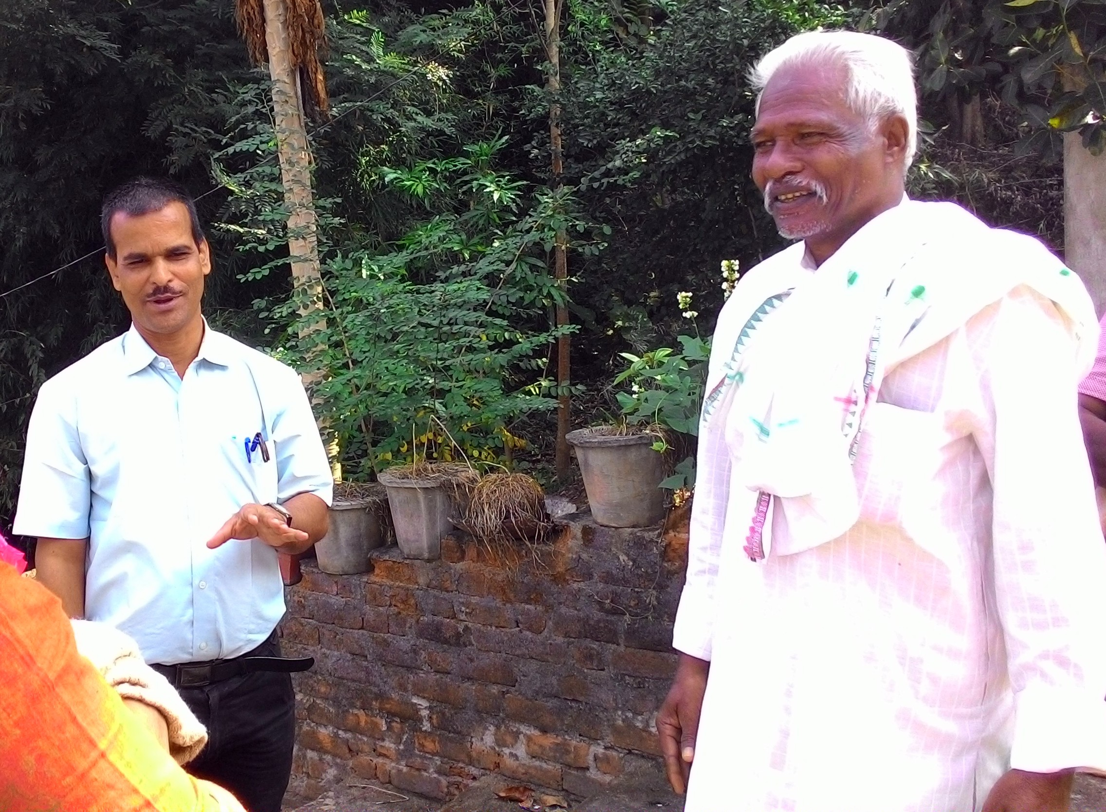 Pradeep and Pani panchayat members work together in solving water based issues