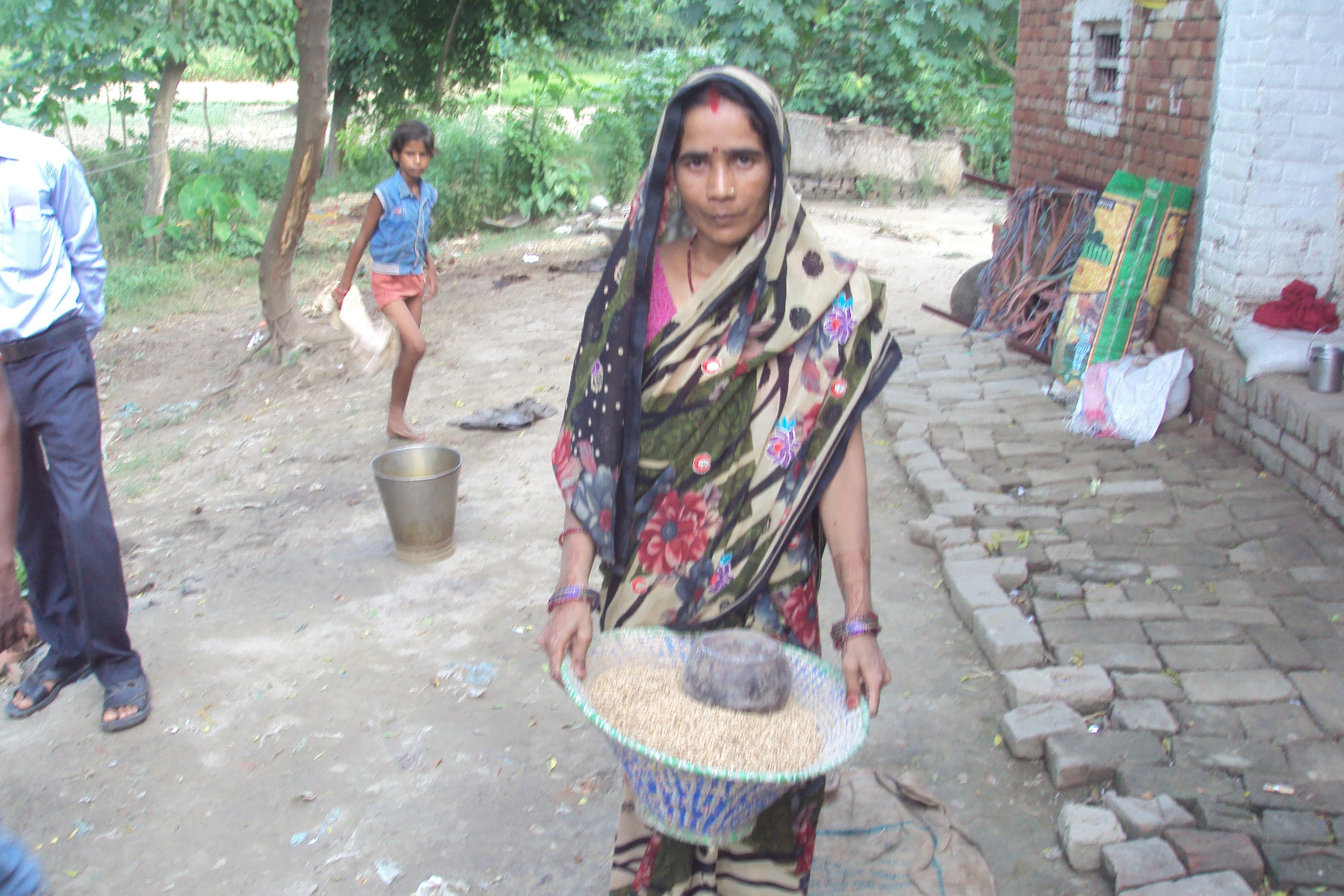 Shakuntala Devi produced flood resistant seeds using organic methods
