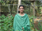 Sasikala, a natural farmer