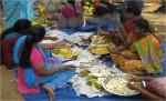 Women process jack fruits for better markets
