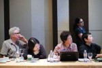 Civil Society delegates deciding on the priorities, to influence the work of FAO and governments, to support agro ecology in Asia and the Pacific region