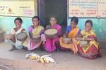 Women preserve many indigenous seed varieties in the grain-cum-seed bank