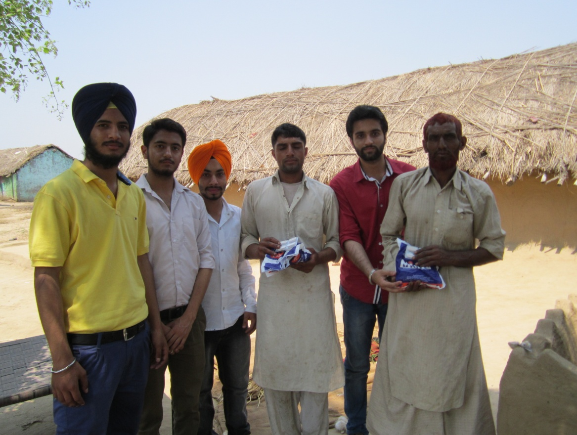 Students interact with Gujjars on better animal health and production